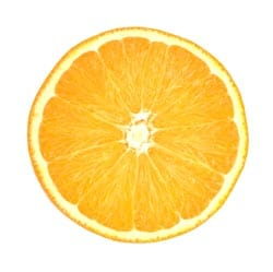 orange vitamin c image