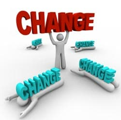 making a change image