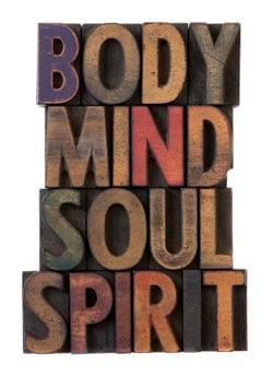 mind body text image