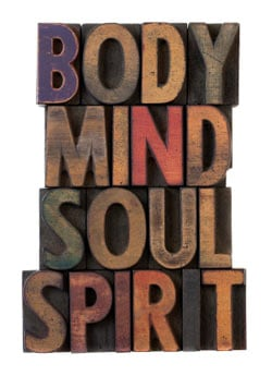 mind body soul spirit image