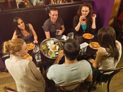 socializing image