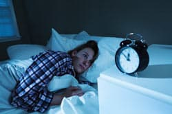 Woman Insomnia image