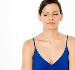 Girl Meditating Image