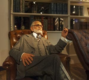 Sigmund Freud wax figure in Berlin