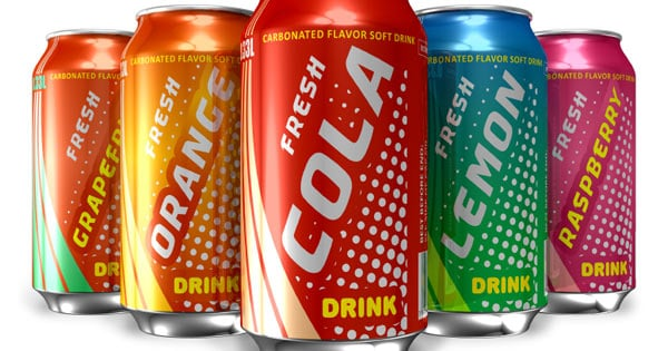 Soda Drinking Cans