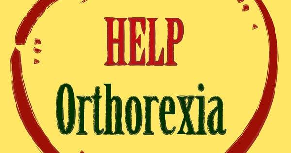 Orthorexia Concept Image