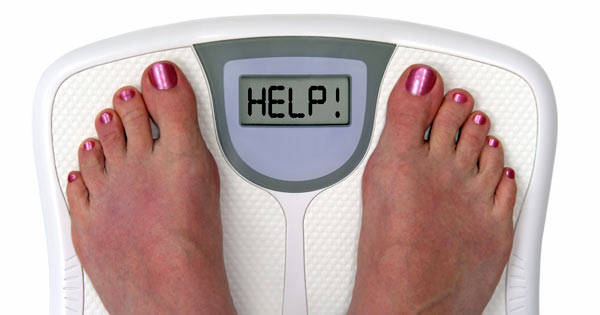 weight loss help concept image
