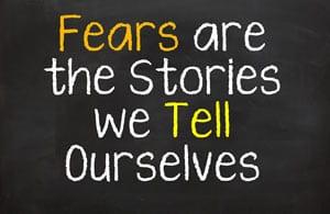 fear concept image