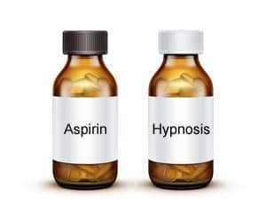 Hypnosis Pills Concept
