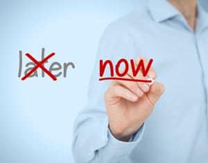 procrastination concept image
