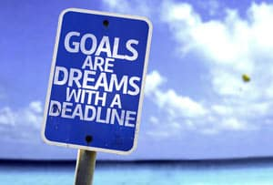 Goals Intentions Concept Image