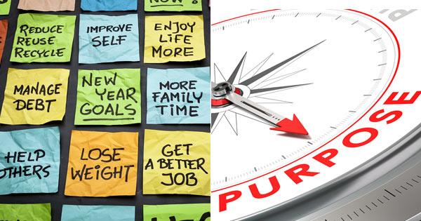 Purpose of Goals Concept Image