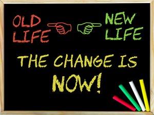 Change Life Concept Image