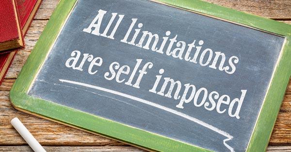 Limiting Beliefs Concept Image