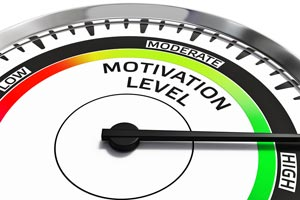 Motivation Level Concept Image