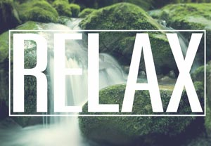 Relax Using Hypnosis Concept Image