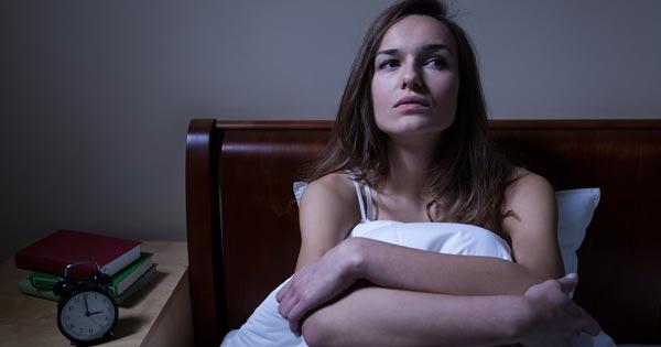 Insomnia Sleepless Woman Image
