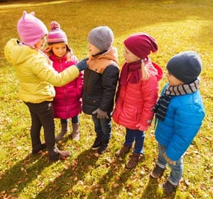 Kids Picking Teams Concept Image
