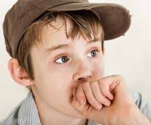 Anxious Boy Image