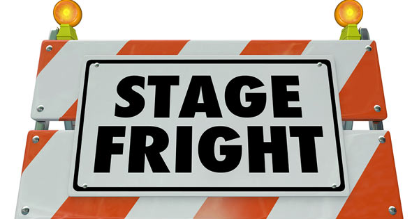 Stage Fright Barrier Image
