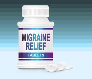 Migraine Medication Concept Image