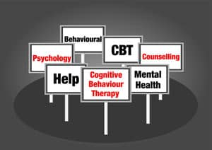 Cognitive Behavioral Therapy Sign Image
