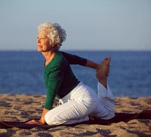 Senior Woman Flexibility Image