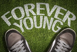 Youthful Mindset Concept Image