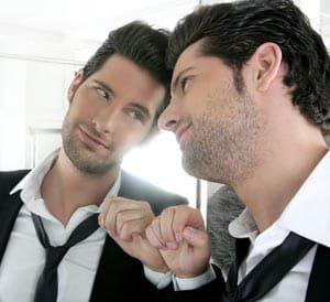 Narcissistic Young Man Image
