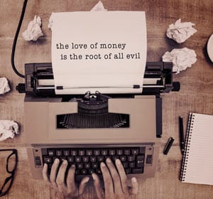 Love of Money Quote