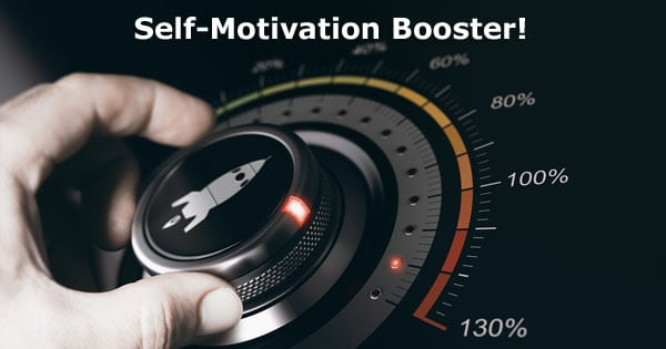Self-Motivation Booster Concept Image