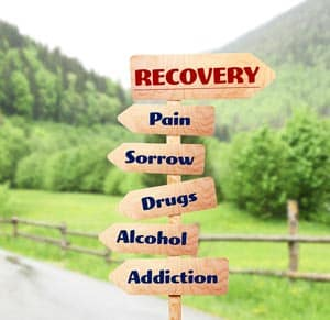 Recovery-sign-for-addictions