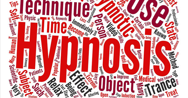 Hypnosis word cloud