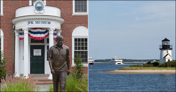 Montage of Hyannis sights
