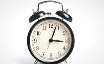 Image showing old style alarm clock